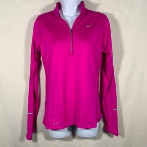 Nike running 1/4 zip pullover. Size Small
